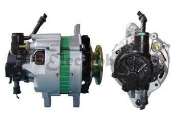 Alternador para Mitsubishi SpacerWagon 1.8 Diesel, L200 2.5 Diesel TD, L300 2.5 Diesel, Galant 1.8 TD, Pajero 2.5 Turbo Diesel, Pajero 2.5 Turbo Diesel, Shiogun 2.5 Diesel