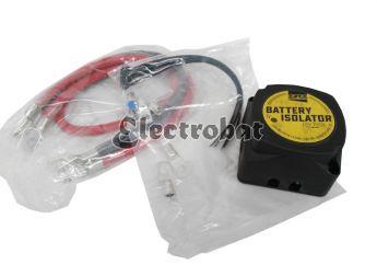 Aislador de Bateria - Máxima carga de alternador 140 Amp