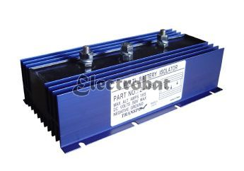 Battery Isolator - Maximum charge alternator 165 Amp