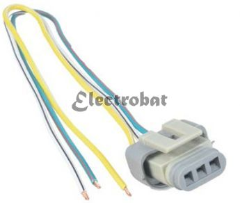 Repair lead for Ford 2G, 3G, 4G alternators with 3 wires