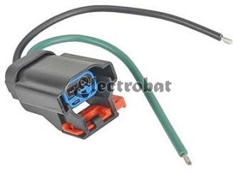 Repair lead for Mitsubishi alternators on Chrysler applications with 2 wires