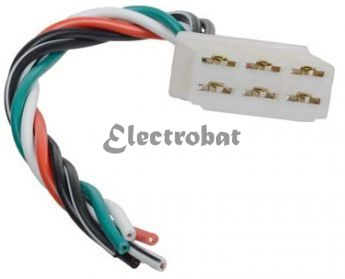 Repair lead for Denso alternators and on Motorcycle and Tractor Universal applications with 6 wires