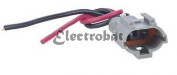 Repair lead for Nikko alternators with 2 wires