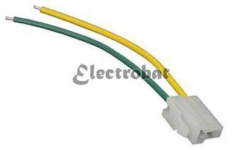 Conector para alternadores Denso, Mitsubishi con 2 cables