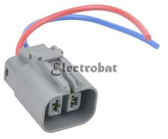 Repair lead for HItachi, MItsubishi alternators with 2 wires