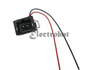 Conector para alternadores Bosch, Valeo con 2 cables