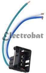 Conector para alternadores Ford reguladores 3G & 4G con 3 cables