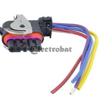 Conector para alternadores Bosch con 5 cables