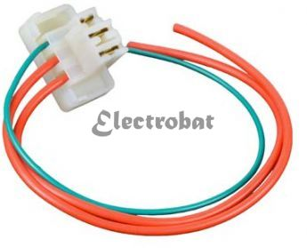 Repair lead for Lucas 15ACR, 18ACR Series alternators with 3 wires