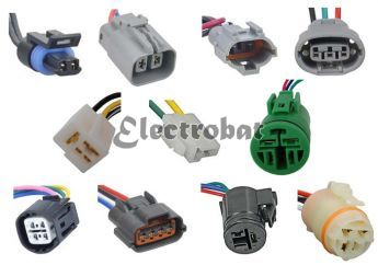 Kit 9 conectores asiáticos