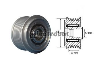 Clutch Pulley for Ford & Land Rover